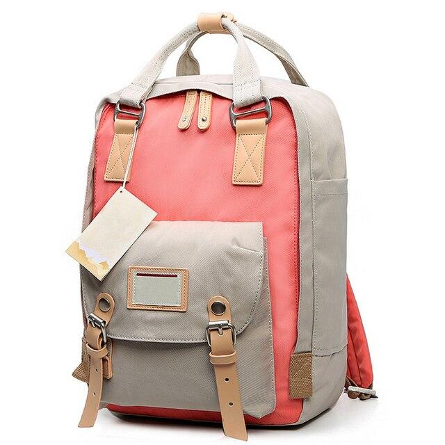 4d580569157f Teenage Girls Kanken Backpack Student Canvas Travel Laptop Bag Women Casual  School Bags Mochila Stacy Bag