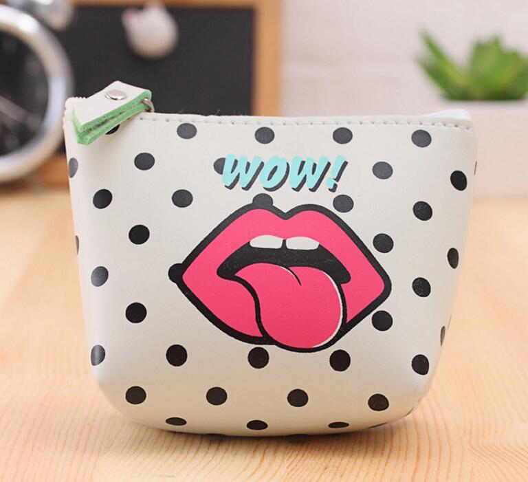M163 Modern Girl High Grade Pu Creative Zero Purse Fashion Waterproof Coin Bag Key Bag Girl Women Student Gift Wholesale