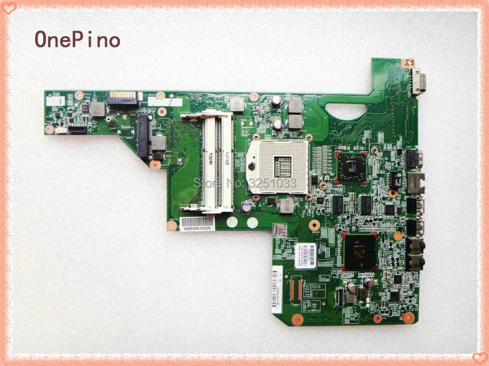 615848-001 FOR HP G72T-B00 G72-B20SO NOTEBOOK CQ72 Laptop motherboard for HP G72 Notebook DDR3 all functional Tested ok for hp g62 g72 laptop motherboard with graphics 615848 001 01013y000 388 g
