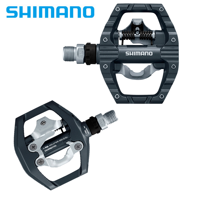 cbce3d99fec Shimano EH500 Aluminum Pedal PD-EH500 Pedals SPD Road Bike Touring Pedals  With SPD Cleats