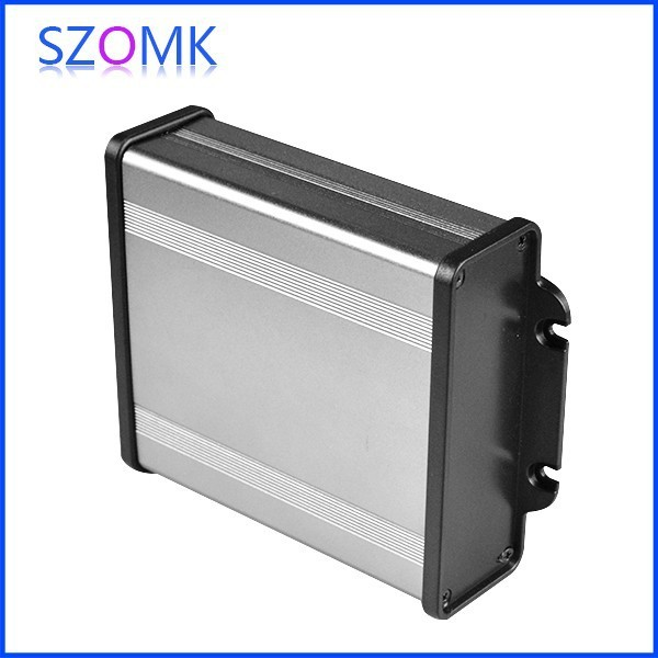 10 pcs/lot aluminum electronic enclosure in grey color easy use box ...