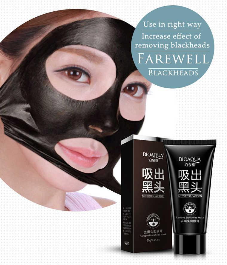 Bioaqua Comedondrukker Masker Masker Voor Het Gezicht Koreaanse Tony Moly Zuiverende Kwaliteit Zwarte Peel Off Houtskool Masker Modder