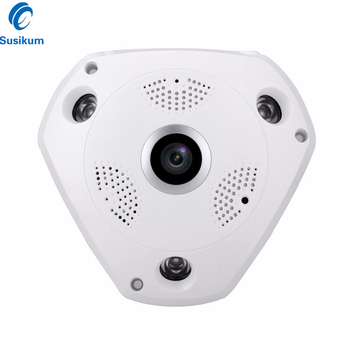 2MP 4MP Indoor Security Camera 1.7mm 180 Degree Fisheye Lens IR Night Vision Plastic Casing Dome Surveillance AHD Camera free shipping evtevision 720p 2 8 12mm vari focal lens ahd camera indoor plastic dome 15m night vision cctv security camera