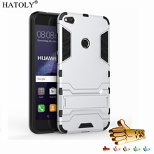 цена на HATOLY sFor Armor Case Huawei P9 Lite 2017 Case Robot Silicone Rubber Hard Cover For Huawei P9 Lite 2017 / Huawei P8 Lite 2017