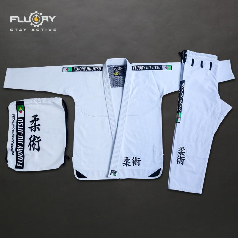 Fluory 350gsm pearl weave bjj kimonos lightweight trainning brazilian jiu-jitsu gi 2 colors unisex bjj gis цена