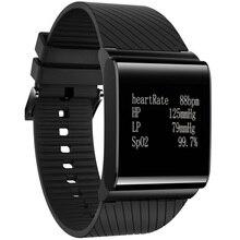 Гестия X9 плюс Смарт Браслет трекер монитор сердечного ритма Смарт Браслет наручные часы измерять кровяное давление для iOS и Android