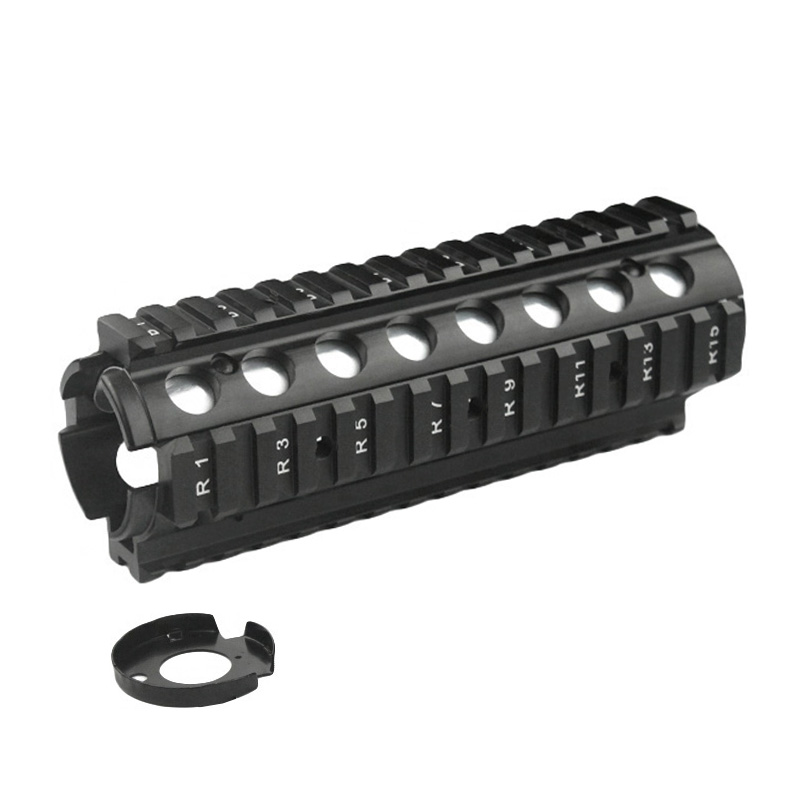 New 6 6 Inch RIS Handguard Picatinny 20mm Rail Mount system with 4 Rail for M4