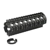 New 6.6 Inch RIS Handguard Picatinny 20mm Rail Mount system with 4 Rail for M4/ M16 Airsoft AEG