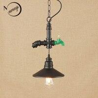Vintage lron gemalt hängen lampe led lampe Anhänger Leuchte E27 110 V 220 V Für Küche Lichter loft decor/esszimmer/hotel|Pendelleuchten|Licht & Beleuchtung -