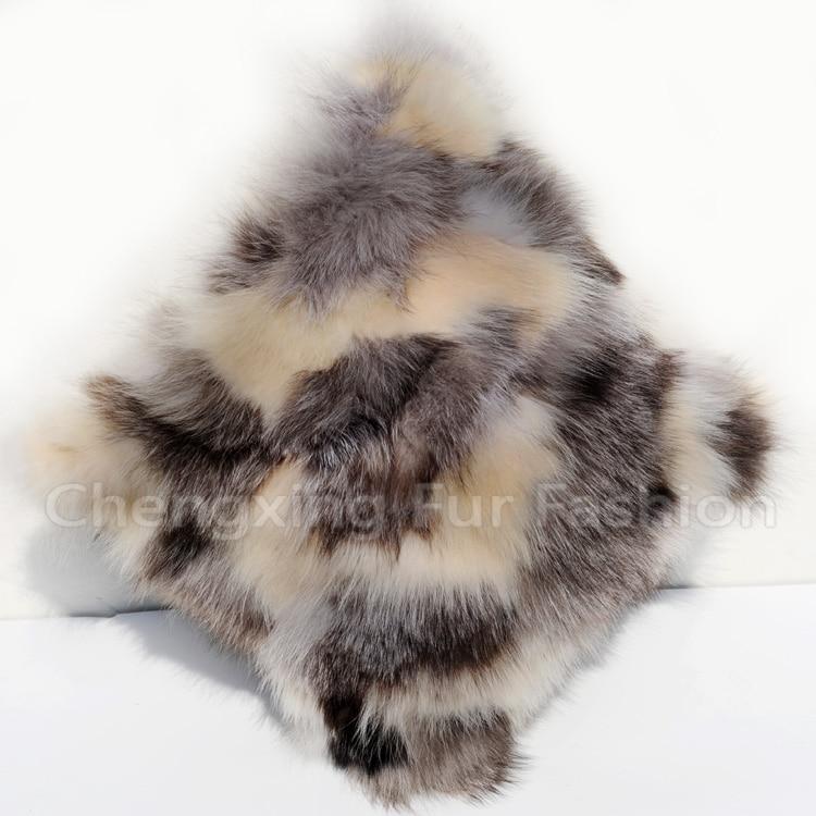 FREE SHIPPING CX-D-33A Decorative Cushions Super Quality Real Fox Fur Patchwork Fashion Fur Pillow