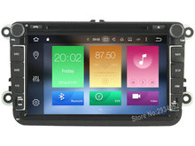 FOR VW SKODA Android 8.0 Car DVD player Octa-Core(8Core) 4G RAM 1080P 32GB ROM WIFI gps car multimedia head device unit stereo