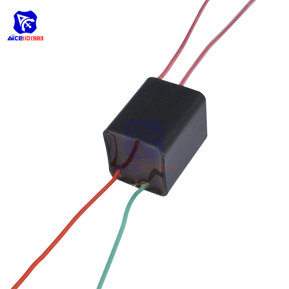 20KV 20000V High Voltage Pressure Generator Igniter Step Up Boost Module Coil Transformer Pulse Ignition 1.5A DC 3.6-6V