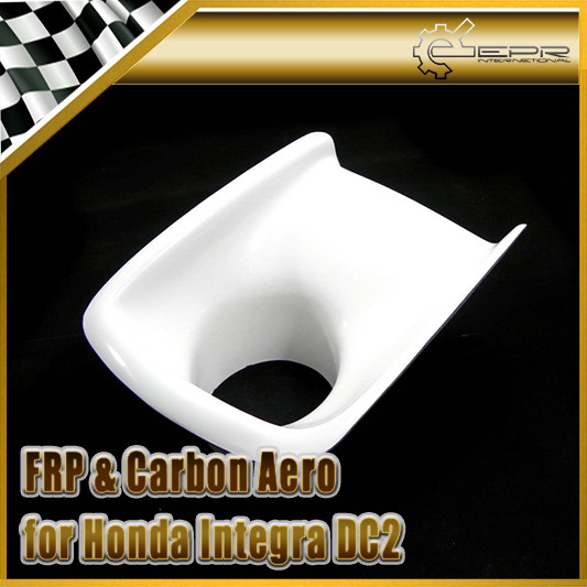 Car-styling For Honda Integra DC2 FRP Fiber Glass JDM Front Bumper Air Duct Fiberglass Air Vent Intake Accessories Racing Trim epr car styling for nissan z33 350z nismo carbon fiber front bumper duct air intake