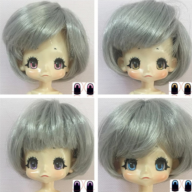 FREE SHIPPING QBTD CUTE DOLL BJD SD JOINTED TOY JOINT BODY WITH HAIR DIY GIFT FOR GIRL OR BOY LOVELY DOLL 3