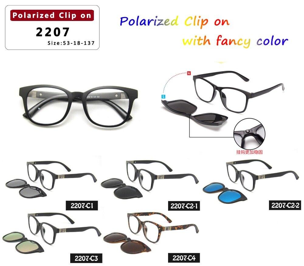 2016 mode design unisex magnetic clip auf polarisierte sonnenbrille ...