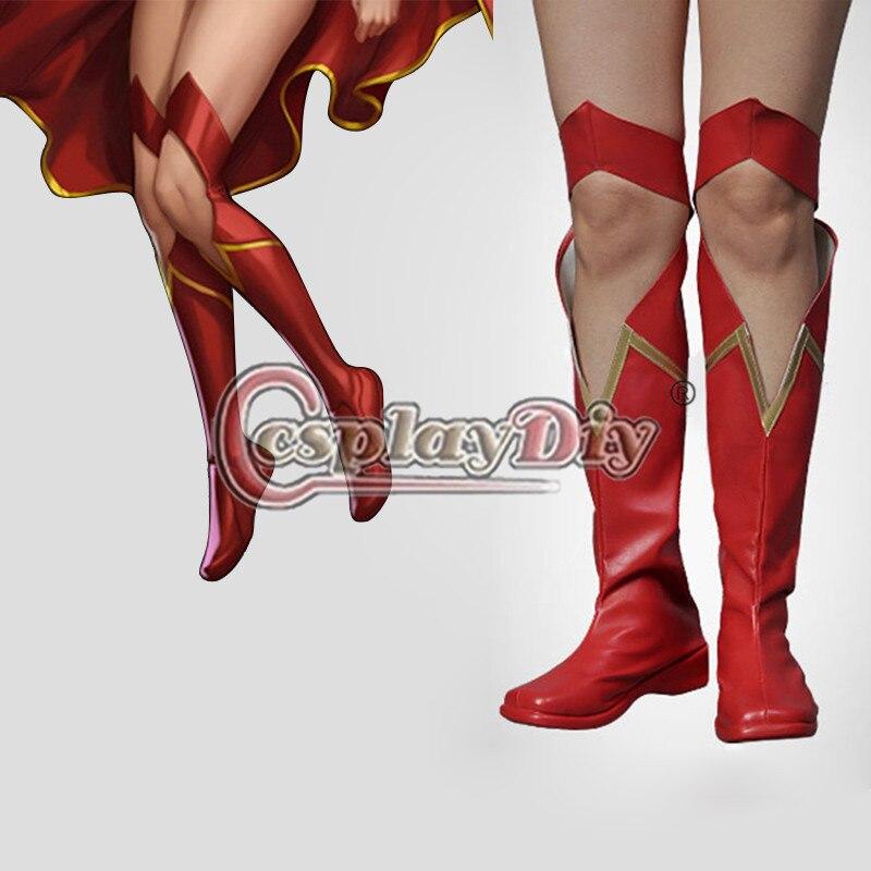 botas del disfraz de la mujer maravilla