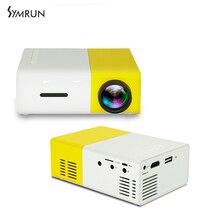 YG300 Symrun Mini Proyector de Bolsillo Pico Proyector Portátil proyector de Vídeo mejor Juguete de regalo Para Niños Con HDMI/SD/Película USB Pr