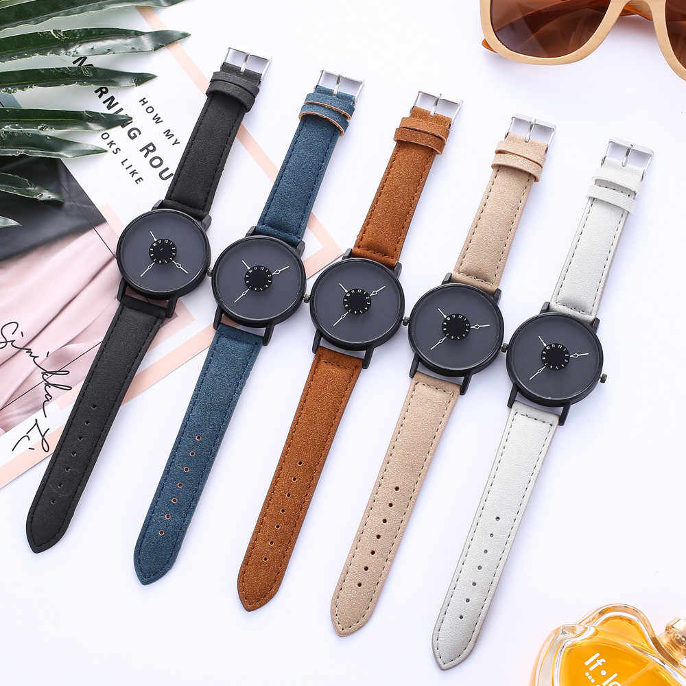 נשים של צמיד מקרית ניטראלי אישיות פשוט חדש רצועת שעון אנלוגי שעון יד שעון reloj mujer אלגנטי 2018