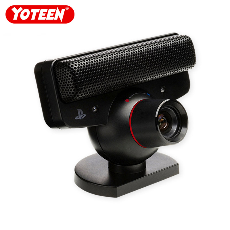 Yoteen For PS3 Move Camera With TV Clip Stand Holder Eye Motion Sensor Cam With Mic