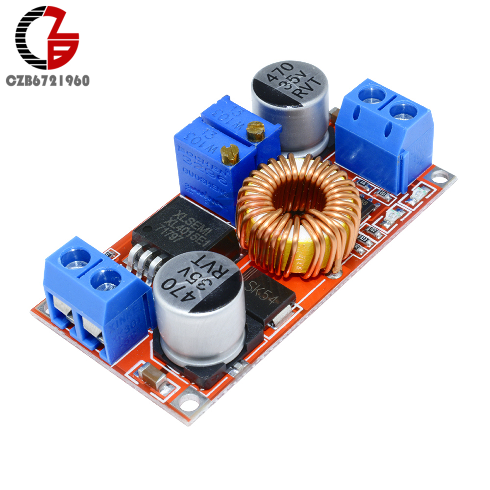 Xl4015 Dc Constant Voltage Current Step Down Buck Converter 5a 1 2 3 4 5 6