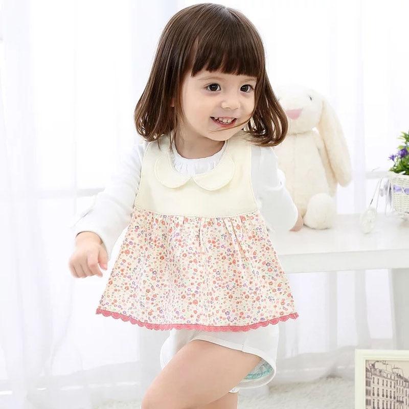 2018 New cotton Baby Bibs Cute Cotton Triangle Round Bow Princess Bandana Baby Towel Bavoirs Enfants Super Soft Baby Bibs