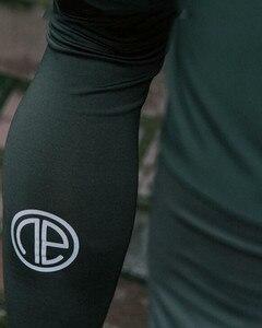 Image 5 - Rajstopy uciskowe męskie długie spodnie spodnie biegaczy spodnie legginsy biegaczy Slim Fit Hombre Skinny Fitness siłownie spodnie treningowe