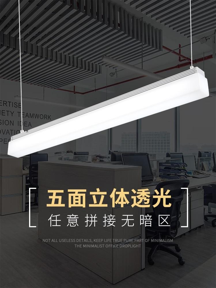 Tube de LED de Suspension pour l'espace de bureau/LED linéaire de logement de profil en aluminium