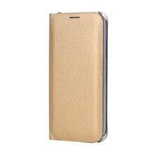 Flip Funda de cuero para Samsung Galaxy A7 2018 A750FD de la carpeta del teléfono caso de la cubierta con titular de la tarjeta de crédito para GalaxyA7 2018