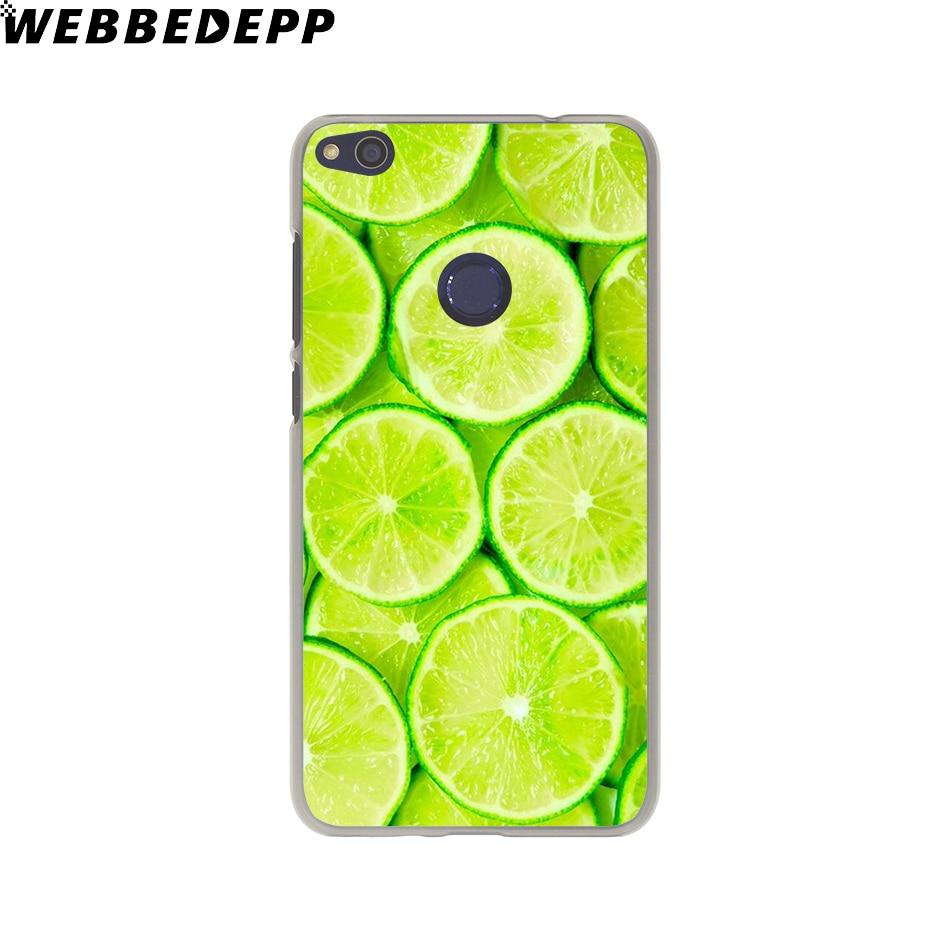 Webbedepp довольно Плоды лимона футляр для Huawei P20 Pro Smart P10 P9 Lite 2016/2017 P8 Lite 2015 /2017