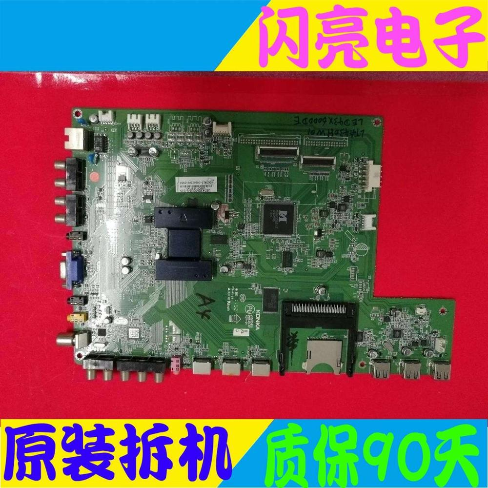 Accessories & Parts Main Board Power Board Circuit Logic Board Constant Current Board Led 43x6000d Motherboard 35015810 With Lta430hw01 Screen Punctual Timing Audio & Video Replacement Parts