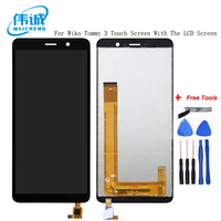 WEICHENG For Wiko Tommy 3 LCD Display and Touch Screen Digitizer Assembly 5.45 Inch For Wiko Tommy 3 Mobile Phone Accessories