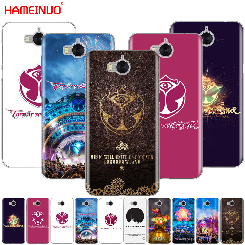 HAMEINUO Belgium Tomorrowland Music Festival cell phone Cover Case for huawei honor 3C 4X 4C 5C 5X 6 7 Y3 Y6 Y5 2 II Y560 2017