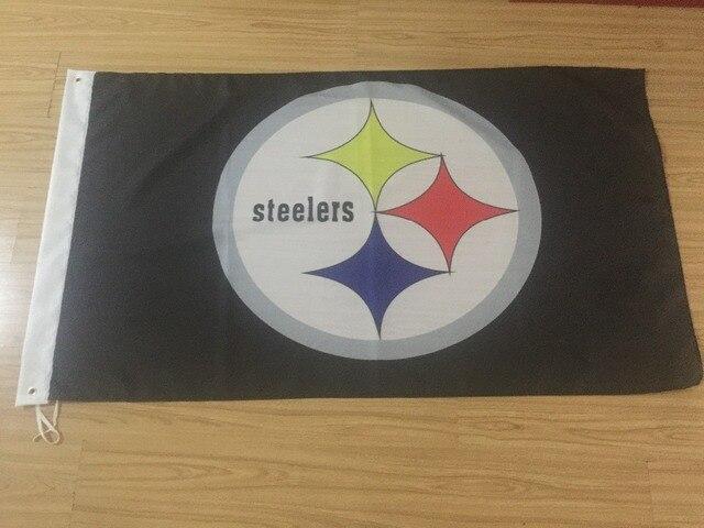 Pittsburgh Steelers Football Club Bandera Casa Nfl Bandera