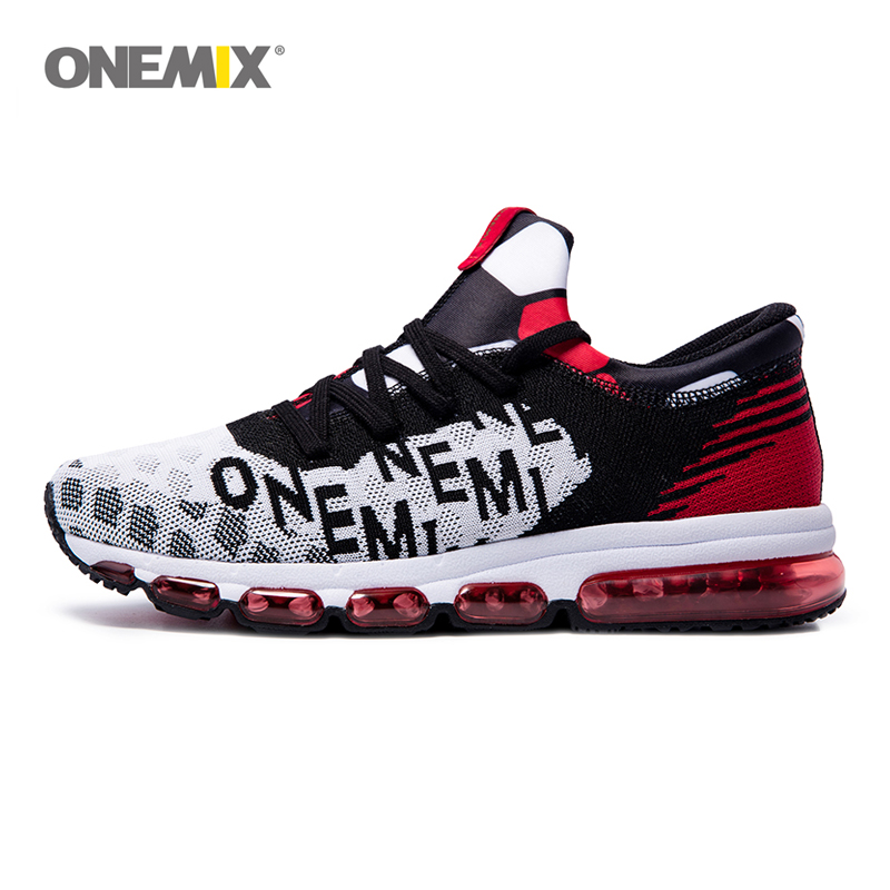 ONEMIX Mens running Shoes Outdoor Sport Sneakers Damping Male Athletic Shoes zapatos de hombre Men jogging shoes Size 35-46 peaks run 105