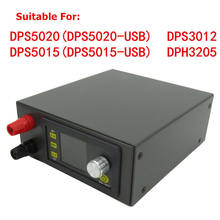 DPS3003 Voeding Shell DPS3005 DP20V2A Zwart Kit Module Voor DPS5015 DP50V2A DPS3012 DPH3205 DPS5005 DP30V5A(China)