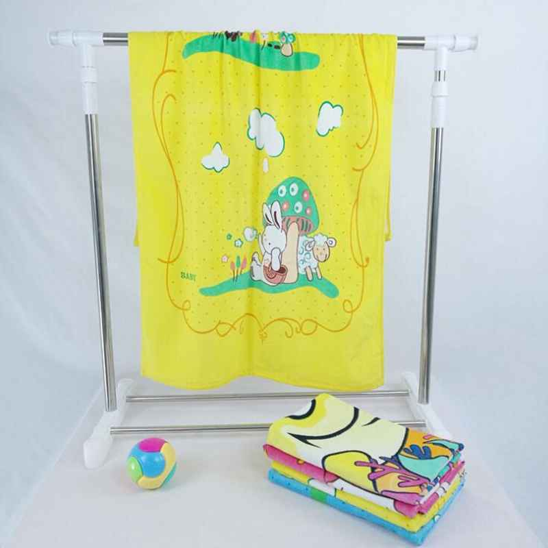 New 60x120cm Multifunction Baby bath towel baby blanket 100% Cotton Breathable Blanket Swaddling Baby Printed Beach Towel For C