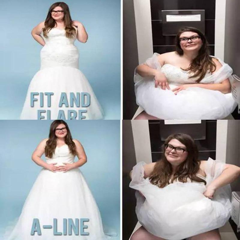 Toilet Wedding Dress