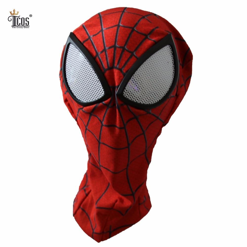 3D Spiderman Mask Linser Vuxen Unisex Halloween Tillbehör Masque - Maskeradkläder och utklädnad - Foto 1