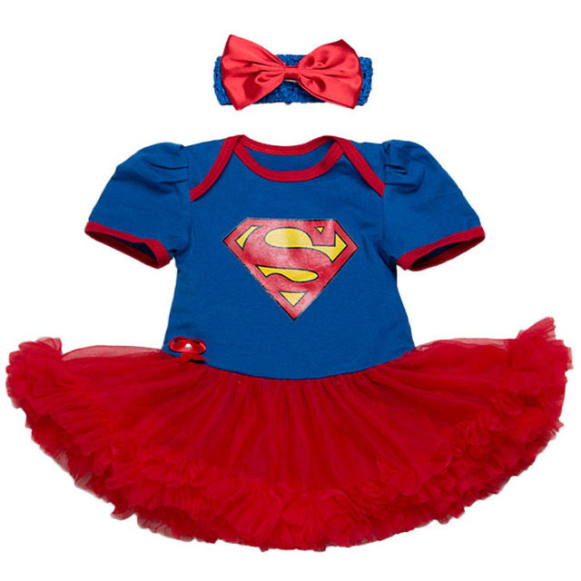 29bb528d2ea1b US $9.95 50% OFF|Newborn Baby Girl Clothes Brand Baby Clothing sets Tutu  Romper Supergirl Roupas De Bebe Menina Infant 0 2T Newborn Baby Outfits-in  ...