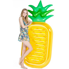 New Big pineapple inflatable swimming pool pineapple pool float 180cm swimming float adult swim ring pool toys pool tube 180cm pineapple swimming float air mattress water gigantic donut pool inflatable floats pool toys swimming float adult floats