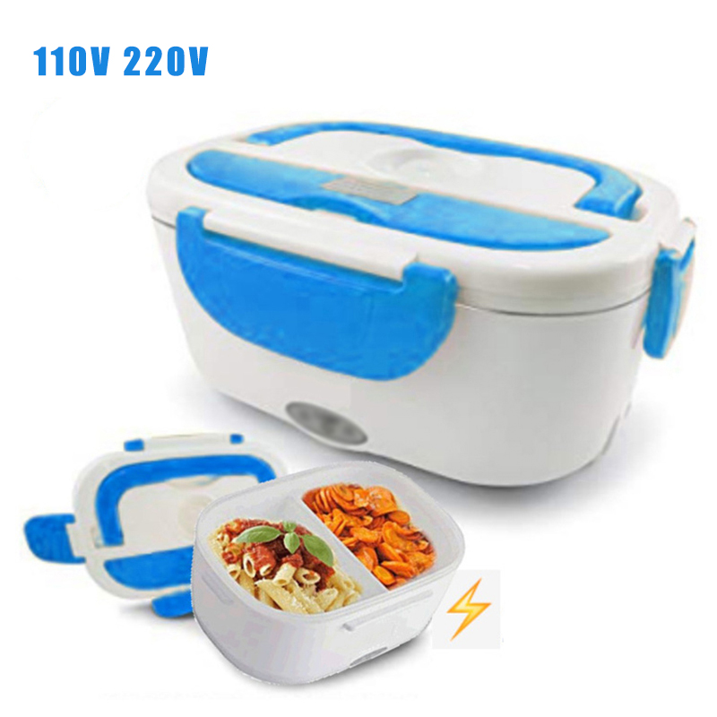 220V Heat Preservation PTC Electric Heating Lunch Box Bento Food Container Neu