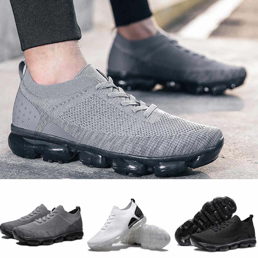 Mannen Sneakers Vrouwen Heren Outdoor Sneakers Flats Comfortabel Ademend Atletische Casual Schoenen Sportschoenen Zapatos De Hombre