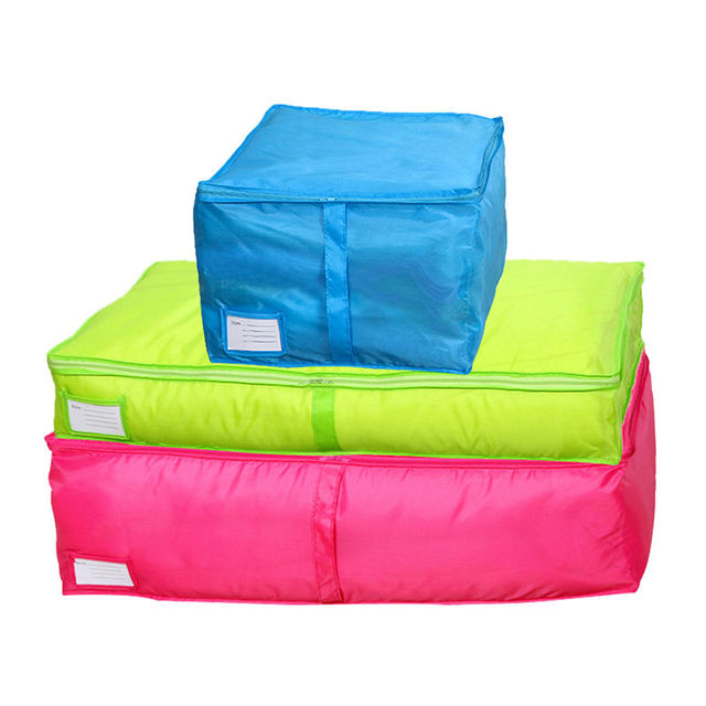 HOMEBEGIN Quilt Storage Bags Oxford Luggage Bags Home Storage Organiser Washable Wardrobe Clothes Storing Storage Bags S-L