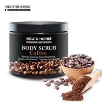Neutriherbs Coffee Scrub Coconut Natural Oil Body Scrub For Exfoliating Whitening Moisturizing Reducing Cellulite Free Shipping