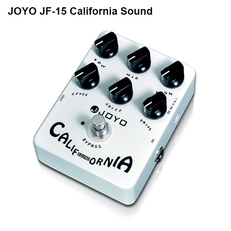 Joyo JF 15 California Sound Guitar Pedal with High gain Lead Sound effect 6 Knobs Free
