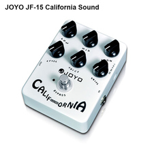 Joyo JF-15 California Sound Guitar Pedal with High-gain Lead Sound effect & 6 Knobs, Free Shipping