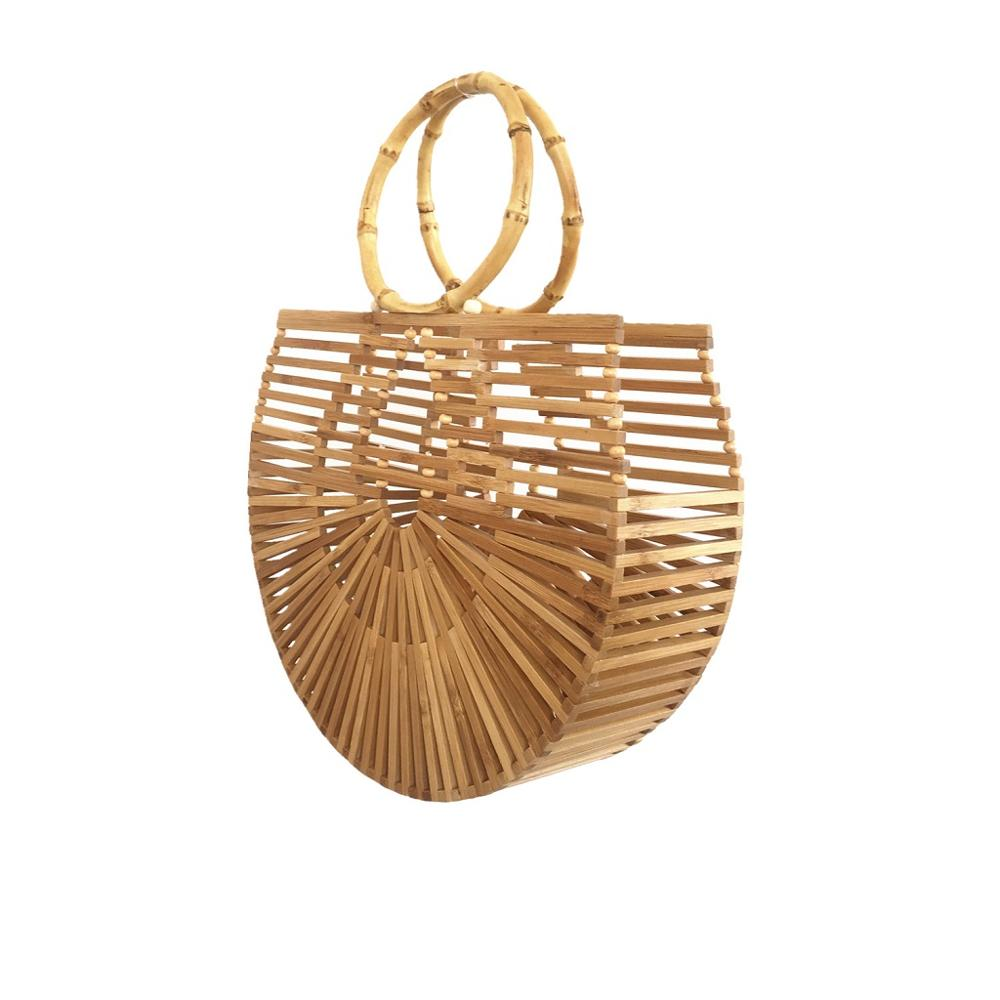 Bamboo Handbags for Women for the Beach 2