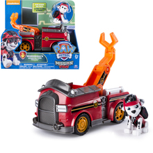 New Genuine Paw Patrol Toy Car Marshall Have Box Apollo Everest Ryder Skye Action Figure Anime Model  PVC for Children Gift