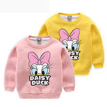 kids clothing New Thick wool Baby Girls boys Sweatshirts winter Spring Autumn Child long sleeves kids girls T-shirt clothes 2-8T tbz 1 5yrs kids sweaters new 2016 winter spring girls clothes fashion boys clothes little rabbit embroidered knitting wool suit
