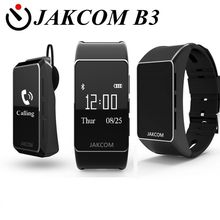 Новинка 2017 jakcom B3 Смарт часы новый продукт bluetooth наушники с пользовательские беруши VS Mi банда 2 SmartBand